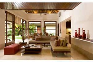 Karma Jimbaran Bali - Kolam Renang Villa ruang tamu