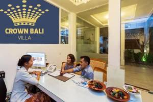 Crown Bali Villas Seminyak Bali - receptionis