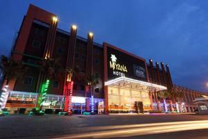Miyana Hotel Medan - Tampak Luar (07/Feb/2014)