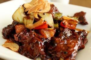 Hotel Brother Solo - daging sapi pandawa saos lada hitam
