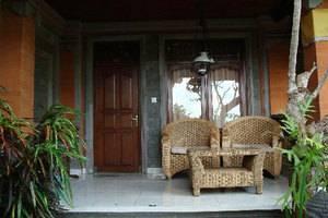Gusti Garden Bungalows Bali - Teras