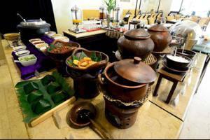 Hotel Sriwijaya Jakarta - Breakfast Area