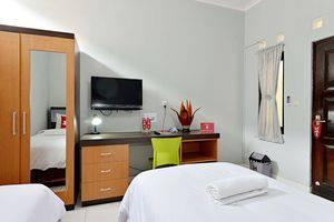 ZenRooms Godean Yogyakarta - Tempat tidur Twin