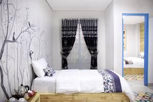 Omah Njonja Bed & Brasserie Yogyakarta - Omah Njonja Family Bed Room