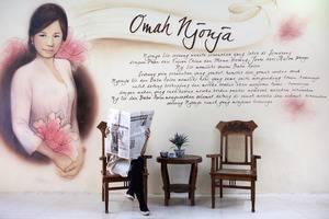 Omah Njonja Bed & Brasserie Yogyakarta - lobby