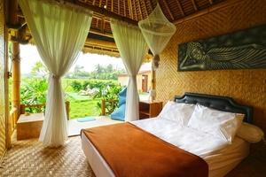 Moon Bamboo Bali - Bedroom