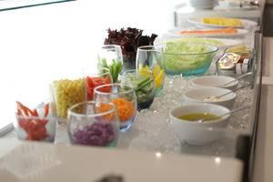 The Grantage Hotel & Sky Lounge Tangerang - salad bar breakfast