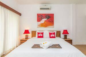 ZenRooms Tukad Badung Renon Bali - Tampak tempat tidur double