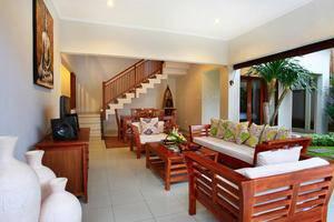 Villa Madhya Bali - Ruang Tamu