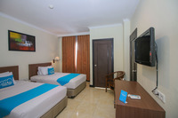 Airy Yos Sudarso 1145 Lubuklinggau - Deluxe Twin Room With Breakfast Special Promo Jan 5