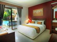 Hotel Puriartha Ubud Bali - Deluxe Double with Balcony and Pool View Breakfast Last Minute Deal