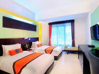 Ozz Hotel Kuta Bali - Superior Twin with breakfast Regular Plan