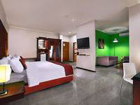 Permata Kuta Hotel Bali - Adjoining Room Only Free Airport Transfer One Way Basic Deal Promotion