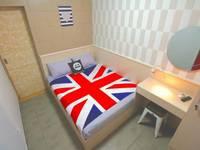 Kamariska Hostel Surabaya - Double Bed Room Regular Plan
