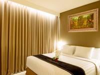 Maestro Hotel Kota Baru Pontianak - Kamar Deluxe Double Tanpa Sarapan Regular Plan