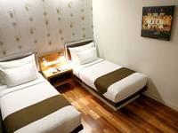 Citihub Hotel at Sudirman Surabaya - Standard Twin Room Only Regular Plan