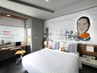 Berry Biz Hotel Bali - Deluxe Room with Breakfast BASIC DEALS