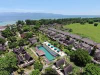 Hotel Vila Ombak di Lombok/Gili Trawangan