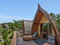 Hotel Villa Ombak Lombok - Traditional Lumbung Hut Regular Plan