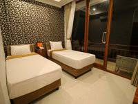 Wahyu Dana Beach Cottage Bali - Deluxe double or twin room with balcony #WIDIH - Weekend Promotion Pegipegi