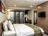Savvoya Hotel Badung - Kamar Double atau Twin Superior, pemandangan kolam renang (Adjoining) Penawaran menit terakhir: hemat 10%