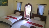 Jungut Guest House Ubud Bali - Deluxe Twin Room with Fan Room Only Basic Deal 30%