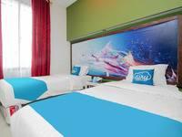 Airy Syariah Medan Sunggal MICC Gagak Hitam 92 - Deluxe Twin Room Only PEGI_Nov_5