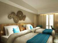 Louis Kienne Hotel Simpang Lima - Deluxe Twin Room Only Regular Plan