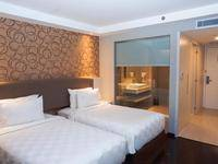 Platinum Adisucipto Hotel & Conference Center Yogyakarta Jogja - Deluxe Twin Room Regular Plan