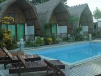 Krisna Bungalow and Restaurant Lombok - Lumbung Bungalow Sea View With Fan Regular Plan