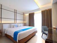 Hotel Dafam Lotus Jember Jember - Deluxe Double Bed Room Only Regular Plan