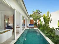 Aleva Villa Bali - Villa Satu Kamar Romantis dengan Kolam Renang Pribadi 50% Off Basic Deal