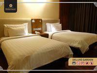 Java Heritage Hotel Purwokerto Purwokerto - Deluxe Garden Room Only Regular Plan