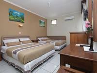 Hotel Mataram 1 Yogyakarta - Big Family Room 2 Double Bed Regular Plan