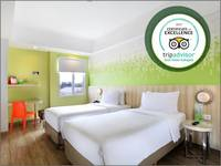 Zest Hotel Sukajadi Bandung - Zest Twin Room Regular Plan