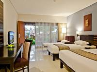Bali Rani Hotel Bali - Deluxe Family Room Basic deal 50%