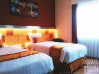 Ruby Hotel Syariah Bandung - Deluxe Twin Room Only Regular Plan