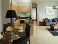 Marriott Executive Apartments Mayflower Setiabudi - Apartemen Eksekutif, 2 kamar tidur, pemandangan kota Regular Plan