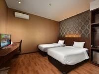 The Crew Hotel Kno Medan - Economy Class Twin - GRATIS ANTAR JEMPUT BANDARA Regular Plan