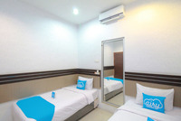 Airy Thamrin Gandhi Medan - Standard Twin Room with Breakfast Special Promo Jan 5