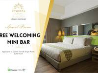 Pesonna Hotel Pekalongan - Deluxe Double Bed with Breakfast Regular Plan