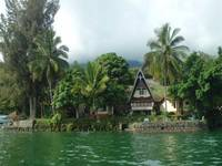 Tuk Tuk Timbul Bungalows di Samosir/Danau Toba