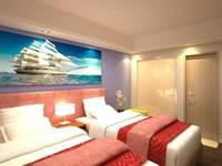 Travellers Hotel Phinisi Makassar - Deluxe Twin Regular Plan