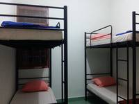 Morotai Camp Hostel Bali - Standard 4 Bed Mixed Dorm Fan Regular Plan