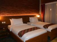 Hotel Wahid Borobudur Magelang - Deluxe Twin Room Regular Plan