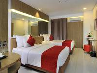 West Point Hotel Bandung - Deluxe Twin Room Only Regular Plan