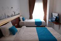 Cemerlang Inn Palembang - Twin Bedroom Floor 3 Regular Plan