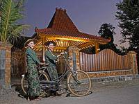 Tingal Laras Batik Artwork Homestay di Magelang/Borobudur