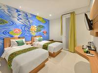 Hotel Lotus Subang - Deluxe Twin Room Regular Plan