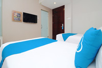 Airy Taman Remaja Kusuma Bangsa Surabaya - Standard Twin Room Only Special Promo Jan 24